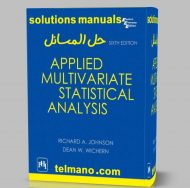 solution applied multivariate statistical analysis